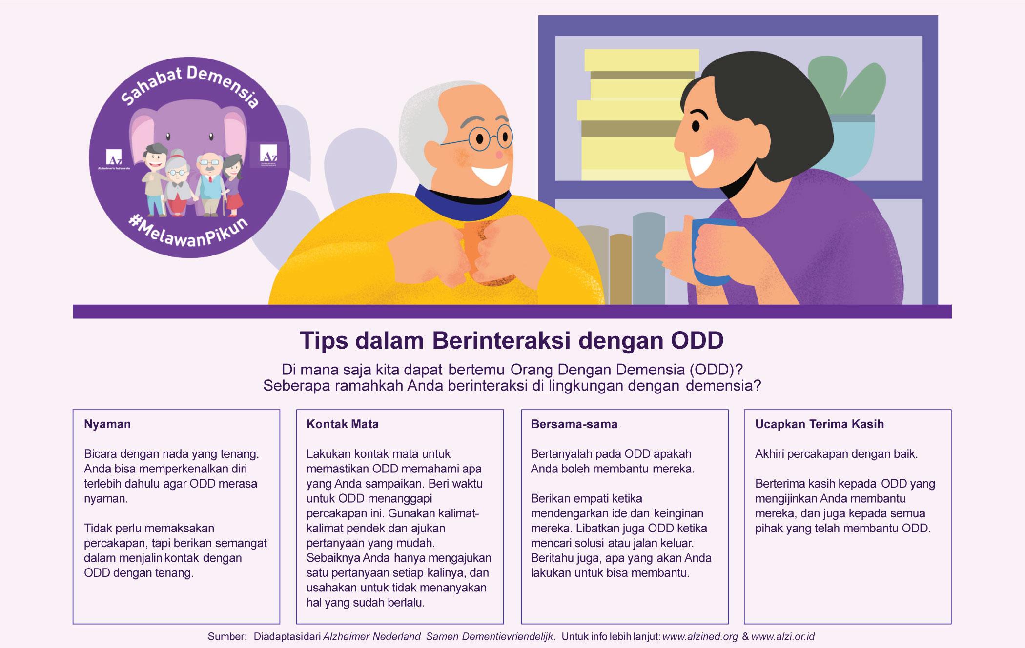 Tips Berinteraksi Dengan ODD